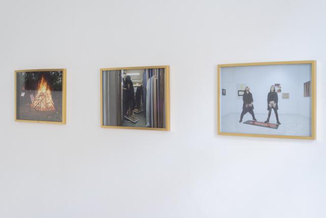 Straszna Triada, 2016, tryptyk fotograficzny, każda 54x74 cm. Fot. Tytus Szabelski