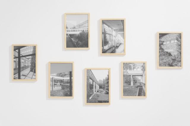 Wewnątrz/zewnątrz | Inside/outside 2016, wydruki atramentowe na papierze archiwalnym | archival inkjet prints, 20x30cm. Fot. Tytus Szabelski