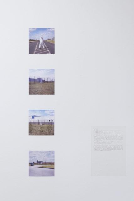 Piotr Bujak, Okrążenie I, 2015, działanie site-specific, fotografia analogowa. Fot. Tytus Szabelski (1)